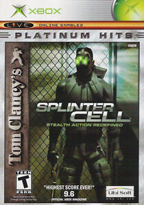 XBOX-Splinter Cell-like new