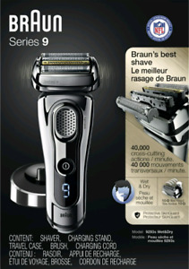 Brand new sealed Braun Series 9 - 9293S Electric Shaver 180$