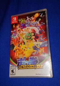 NEUF Emballé Pokemon Pokken Tournament DX Nintendo Switch