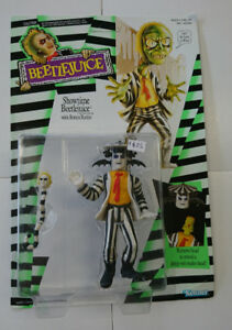 Beetlejuice  Showtime Action Figure with rotten rattler