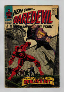 5 EARLY DAREDEVIL ISSUES (20, 33, 34, 36, 37)