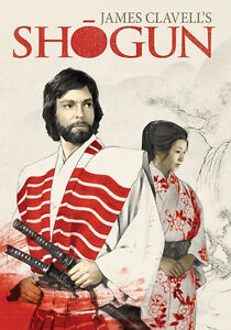 Shogun DVD Blue Ray by James Clavell