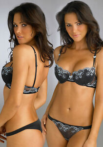 Sexy-Poster-20x30-Model-Alina-Vacariu-Multi-Pose-of-Black-Lacy-Lingerie-Set-008