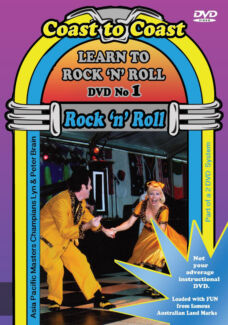 Rock n Roll Dance Lessons 2 DVD set Sydney, Melbourne, Perth, ACT The Gap Brisbane North West Preview