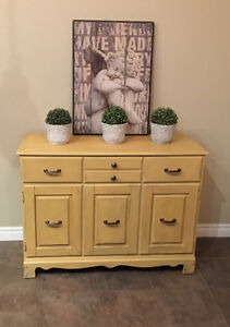 Lovely Chalk Painted Cabinet