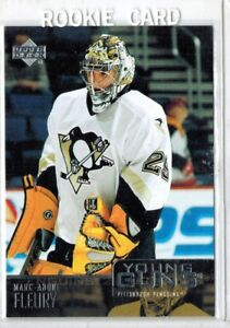 MARC-ANDRE FLEURY ... 2003-04 Upper Deck ... YOUNG GUNS ROOKIE
