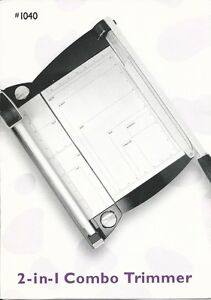 2-in-1 Combo Paper Trimmer St. John's Newfoundland image 1