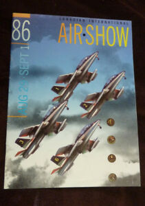 Canadian International Airshow Program 1986