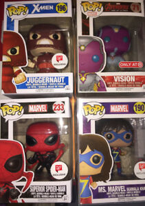 Funko Pop Exclusives: Walgreens and Target