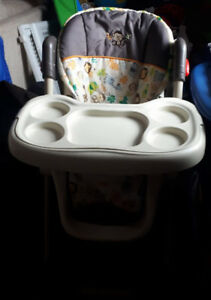 Baby trend deluxe high chair w/removeable tray