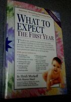 """""""WHAT TO EXPECT - The First Year"""" book"""