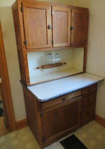Antique Hoosier Kitchen Cabinet