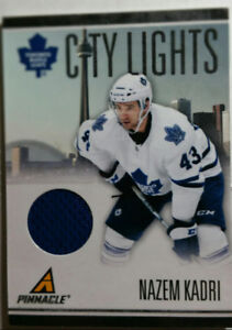 2010-11 Nazem Kadri Maple Leafs Game Used Jersey Relic #030/499