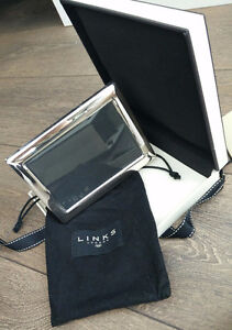 """Links of London Silver Plate Small Photo Frame 4 x 6"""""""