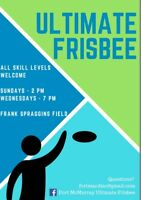 Come Play Ultimate Frisbee