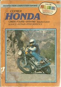 Honda repair manuals