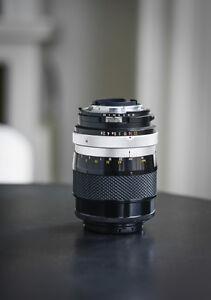 Nikon Nikkor 135mm f2.8 Manual Lens - Excellent Condition