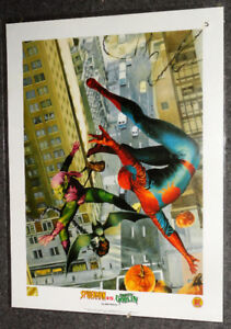 Spider-man vs Green Goblin  Marvel Comics Laminated Poster 18x30