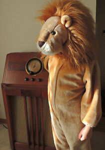 Halloween costume, Friendly Lion