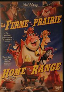 DVD La ferme de la prairie - Home of range