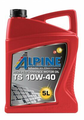5  Liter ALPINE® TS 10W-40 Motorenöl teilsynthetisch Pkw Motoren Öl (Pkw-motoren)