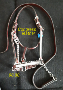 Congress Leather show halter