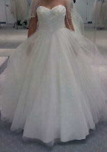 Beautiful ball gown with lots of sparkle