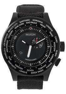 MONTRE POUR HOMME NIXON WORLD TIME PASSPORT NEUVE