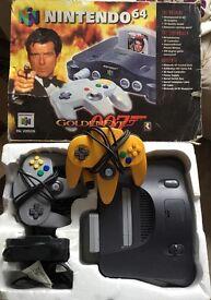 Nintendo 64 Goldeneye