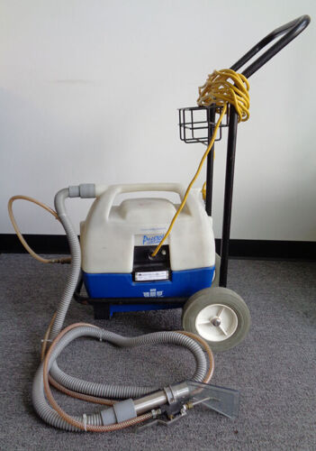 WINDSOR PRESTO PORTABLE CARPET SPOTTER W/ CART, STAIRS, UPHOLSTERY, PET STAINS