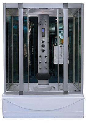 1001 NOW 9001S Shower Abide Steam Shower W/ LED Lights Hand Shower