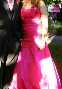 prom dress for sale - corset back goes from size 13 to 16 Kitchener / Waterloo Kitchener Area image 1
