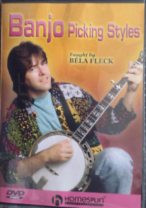 5 string Banjo Tutor DVD
