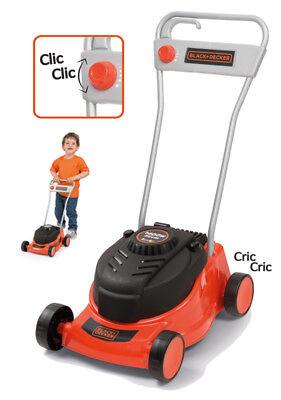 Smoby Black & Decker Rasenmäher für Kinder Kinderspielzeug Kinderrasenmäher NEU