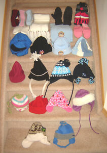 Winter Hats, Gloves, Ear Warmers - toddler and one size Strathcona County Edmonton Area image 1