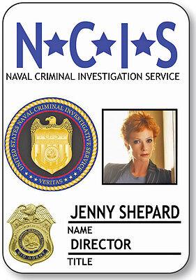 NAME BADGE HALLOWEEN COSTUME JENNY SHEPARD DIRECTOR NCIS SAFETY PIN BACK](Jenny Halloween Costume)