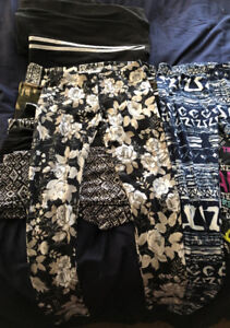 Girls urban kids tights, 12 pairs, barely worn, excellent cond!