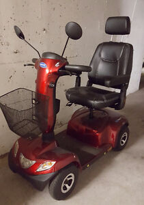 Mobility issues-Get out and enjoy life with this scooter