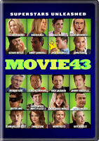 Movie 43 (Case is crushed in one corner but the dvd is fine)