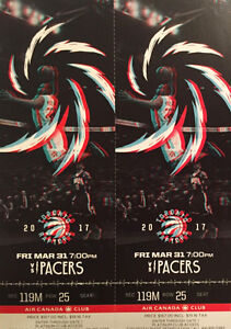 Raptors vs. Pacers: Centre Court Platinums