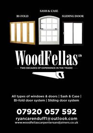 Woodfellas carpenters and joiners manufacturers of all types of Windows and doors sash and case