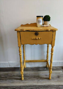 Vintage/Antique Telephone Side Table with Storage