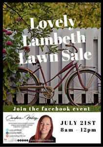 Lovely Lambeth Neighbourhood Lawn Sale