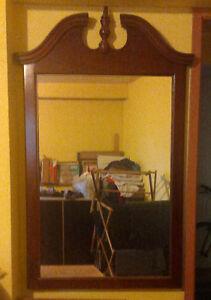 Solid Wood Decretive Mirror