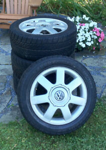 "15"" VW alloy wheels"