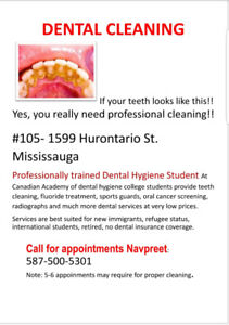 Very Low Price Dental Cleaning