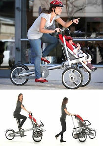 VELO CHARIOT,TRICYCLE ,STROLLER, TRICY ADULT BABYCARRIE