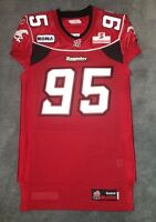 DeVone Claybrooks 2011 Calgary Stampeders Game Worn Used Jersey
