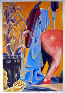 painting STILL LIFE composition