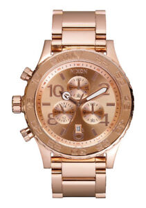 NIXON- The 42-20 Chrono- Rose Gold
